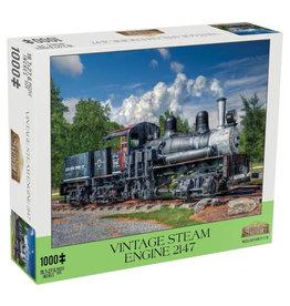 Mchezo Vintage Steam Engine Puzzle 1000 PCS