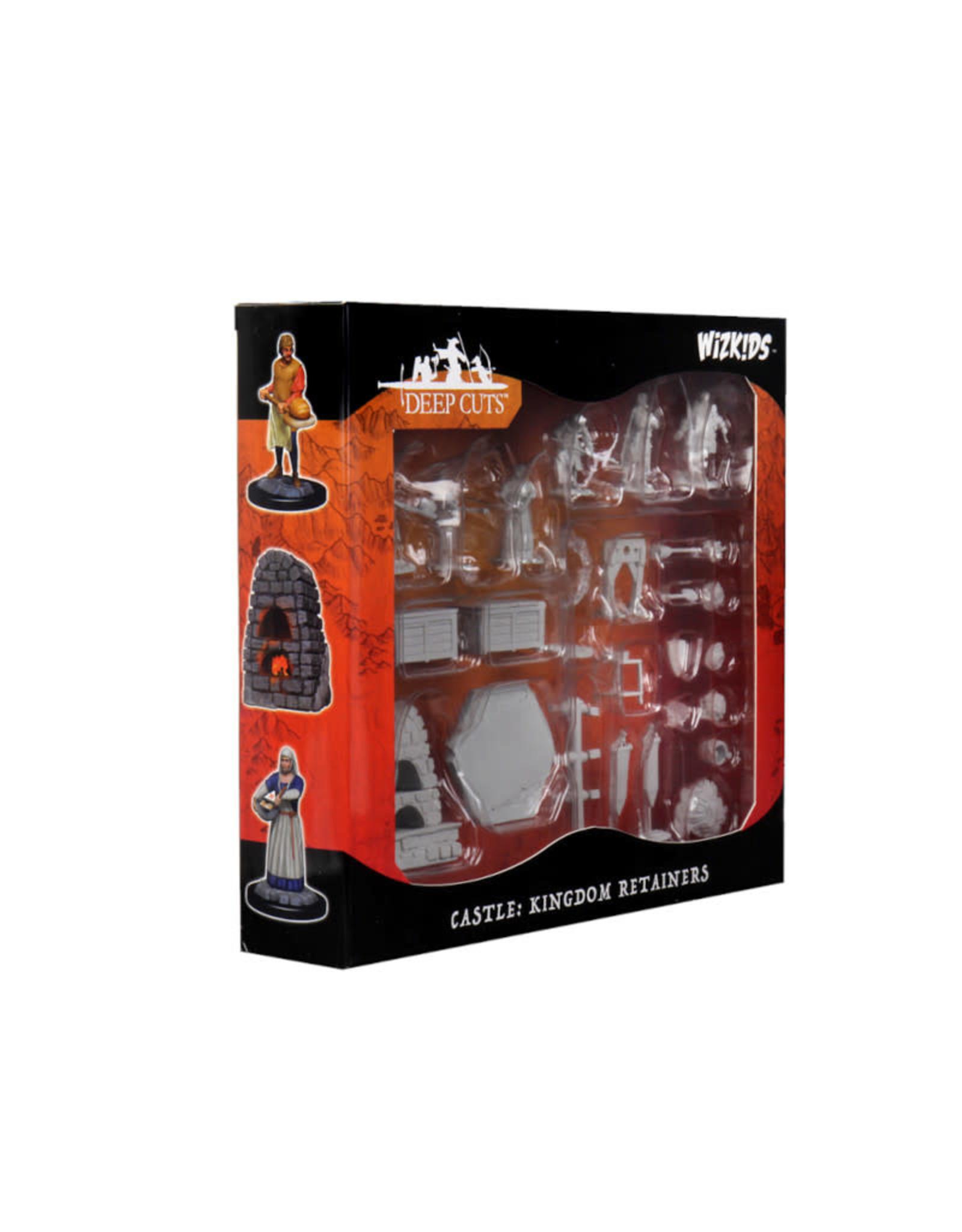Wizkids D&D Unpainted Minis Set: Castle Kingdom Retainers
