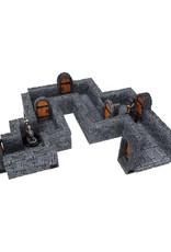 Wizkids WarLock Tiles Dungeon Straight Walls