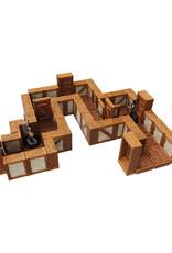 Wizkids WarLock Tiles Town and Village Straight Walls