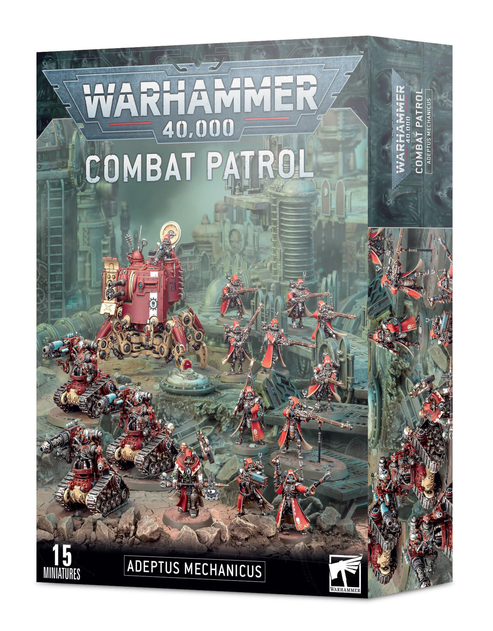 Games Workshop Warhammer 40K Combat Patrol Adeptus Mechanicus
