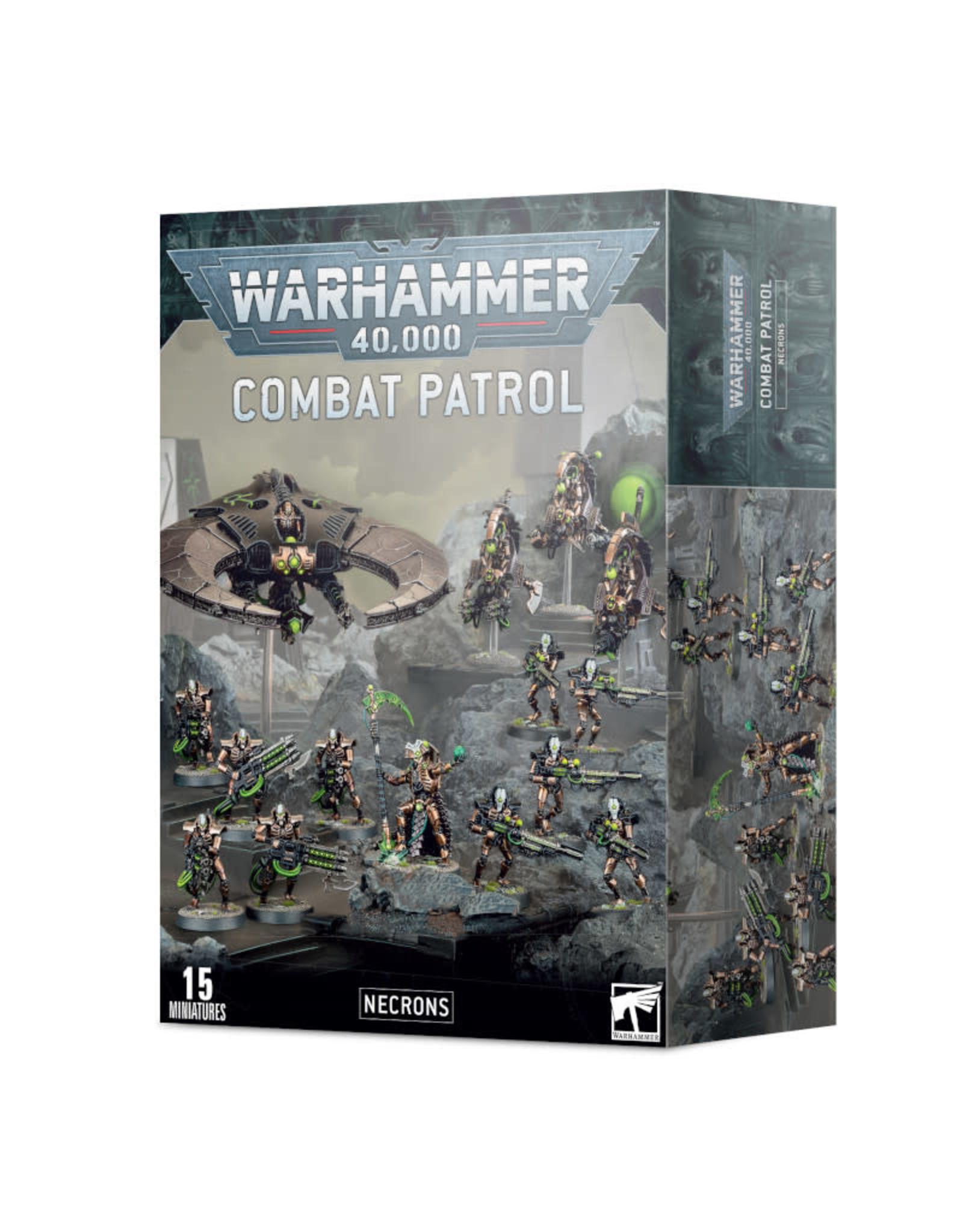 Games Workshop Warhammer 40K Combat Patrol Necrons