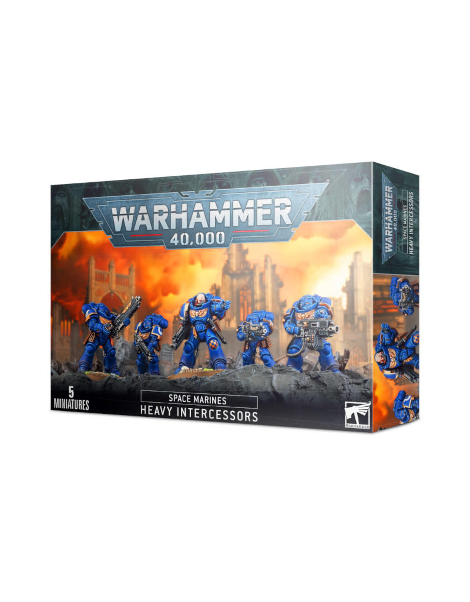 Games Workshop Warhammer 40K Space Marines Heavy Intercessors