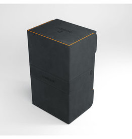 Deck Box: Stronghold XL 200+ Black/Orange