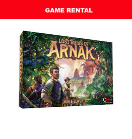 Czech Games Edition (RENT) Lost Ruins of Arnak for a Day. Love It! Buy It!