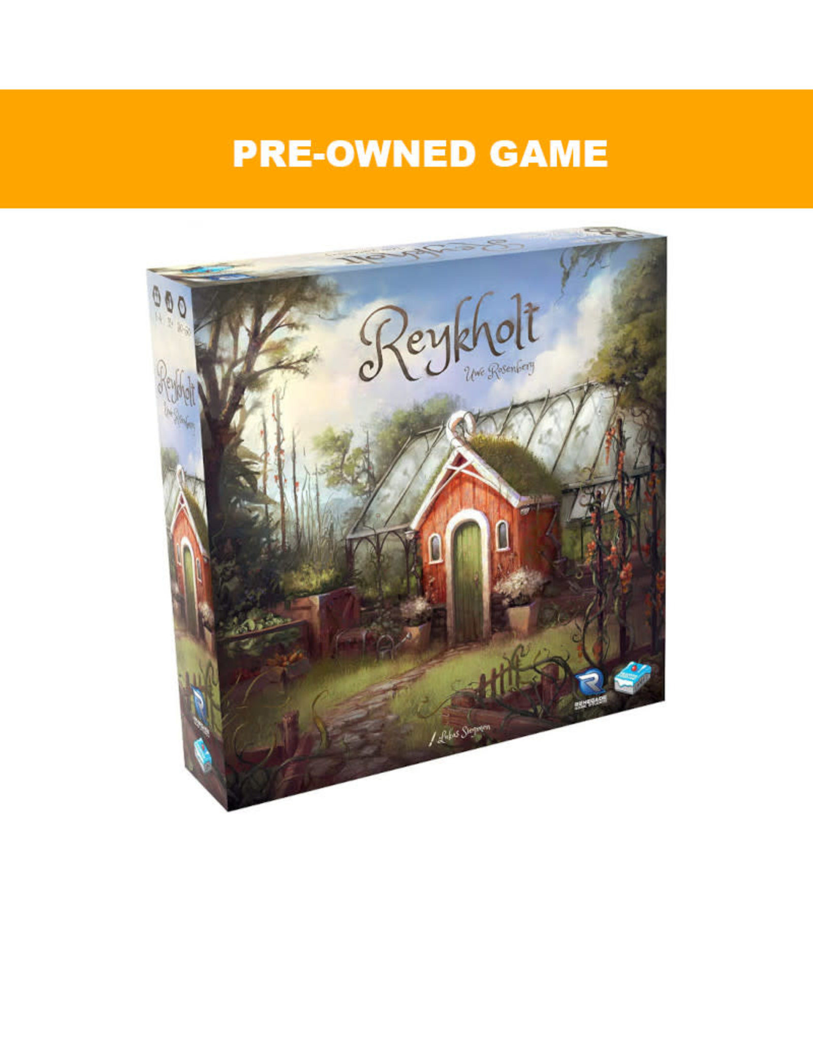 Renegade Games (Pre-Owned Game) Reykholt