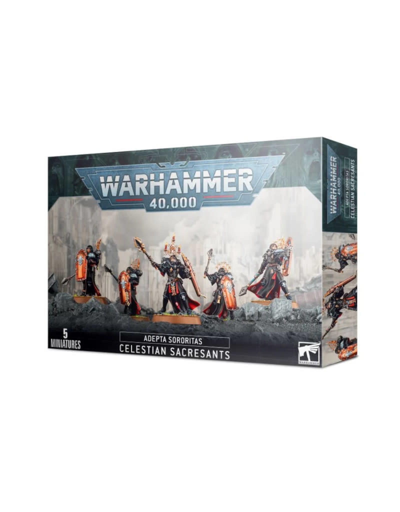 Games Workshop Warhammer 40K Adepta Sororitas Celestian Sacresants