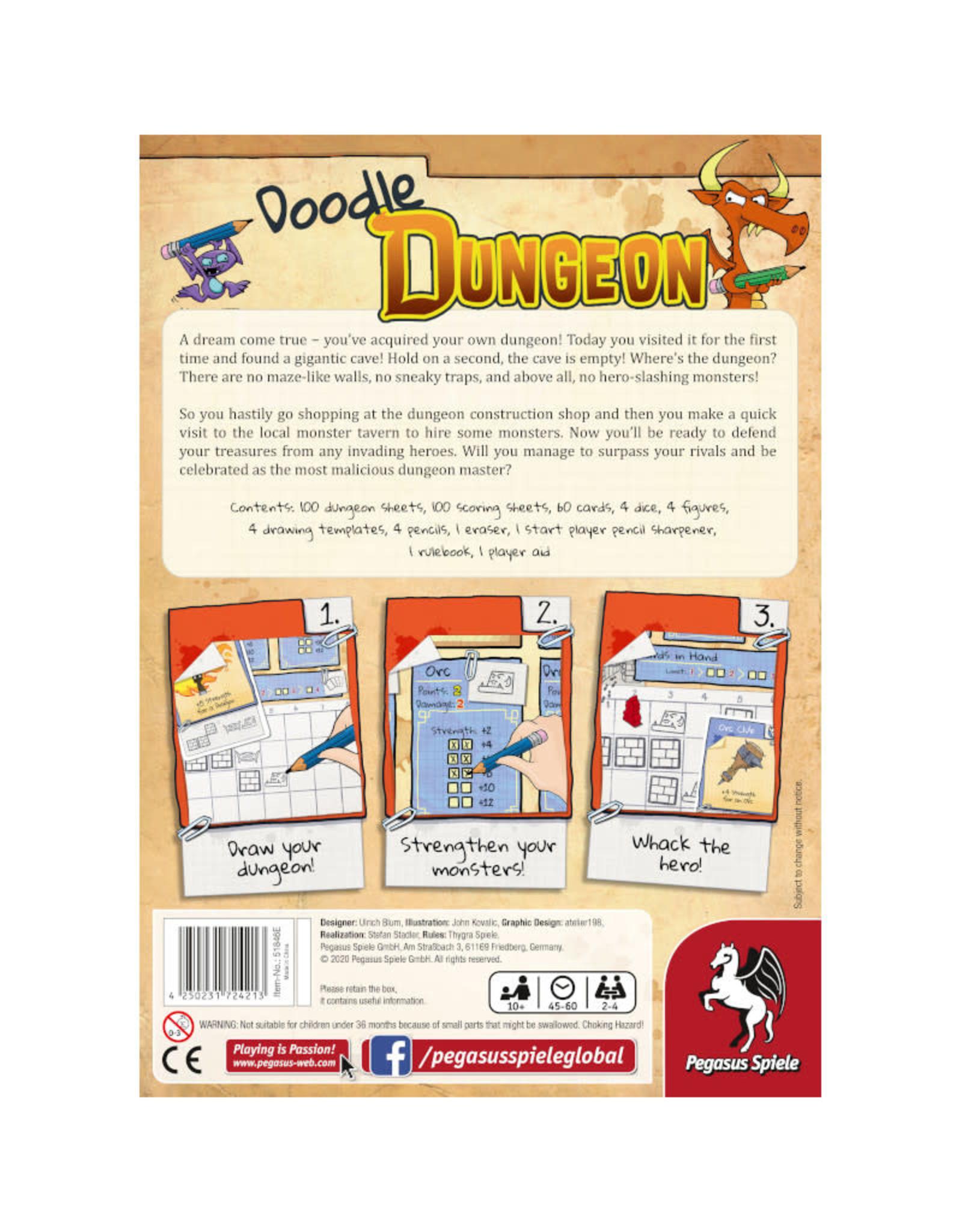 Pegasus Spiele Doodle Dungeon