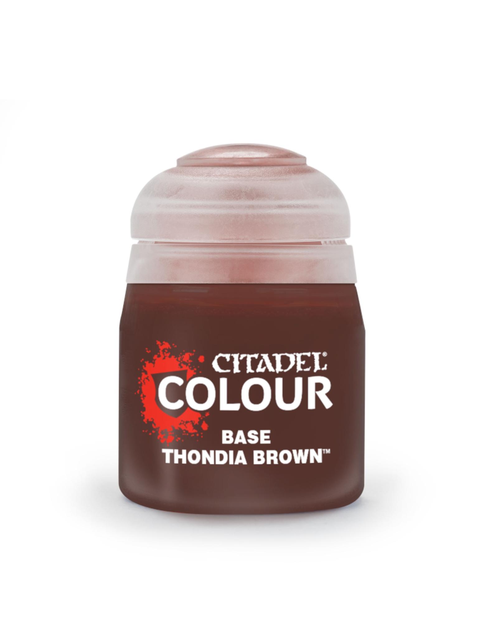 Citadel Base Paint: Thondia Brown