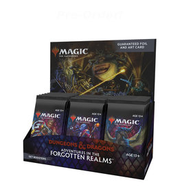 Wizards of the Coast MTG D&D Adventures in the Forgotten Realms Set Booster (30) Display Box