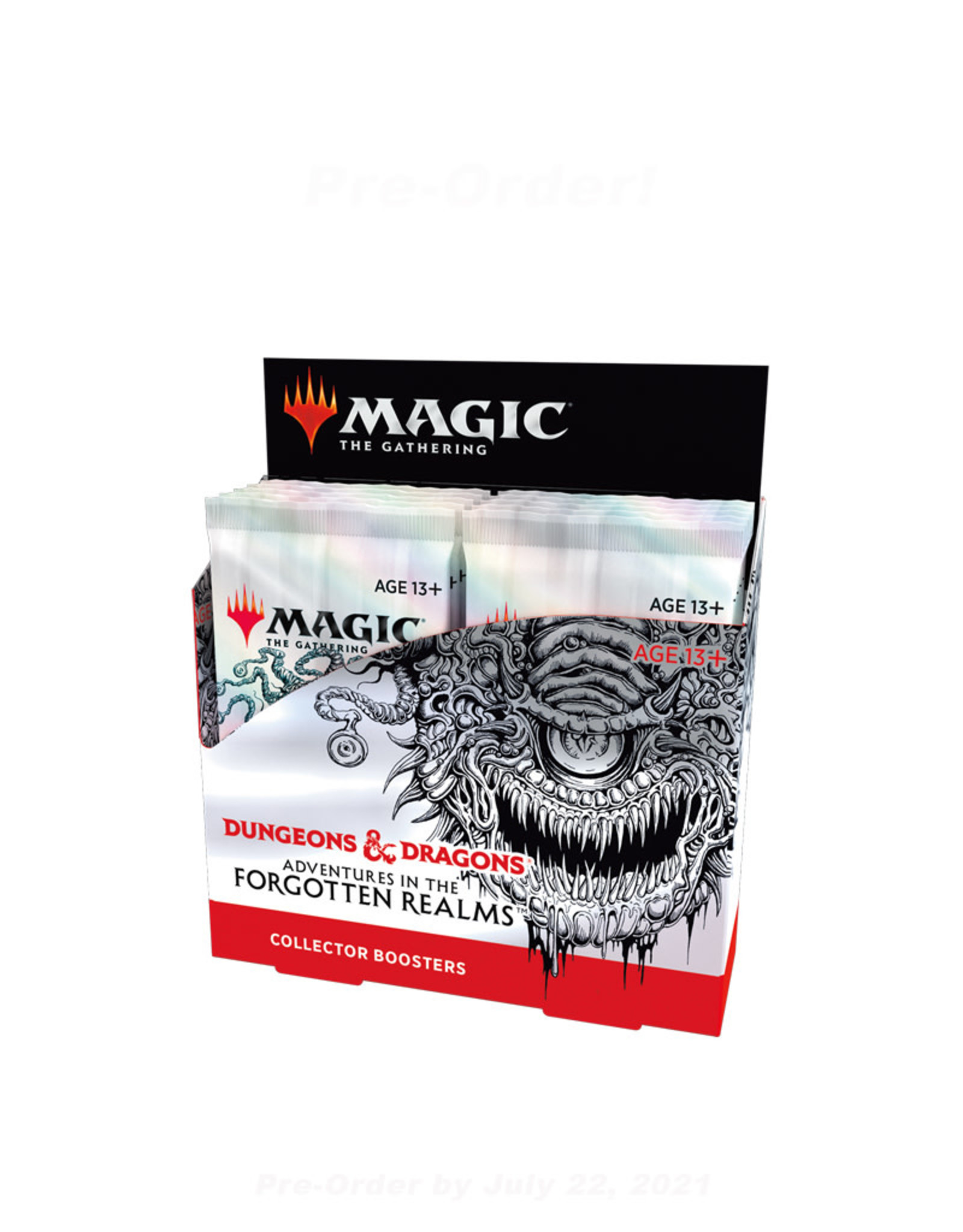 Wizards of the Coast MTG Adventures in the Forgotten Realms Collector Booster (12) Display Box