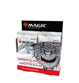Wizards of the Coast MTG D&D Adventures in the Forgotten Realms Collector Booster (12) Display Box