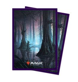 Sleeves: MTG Unstable Swamp (100)
