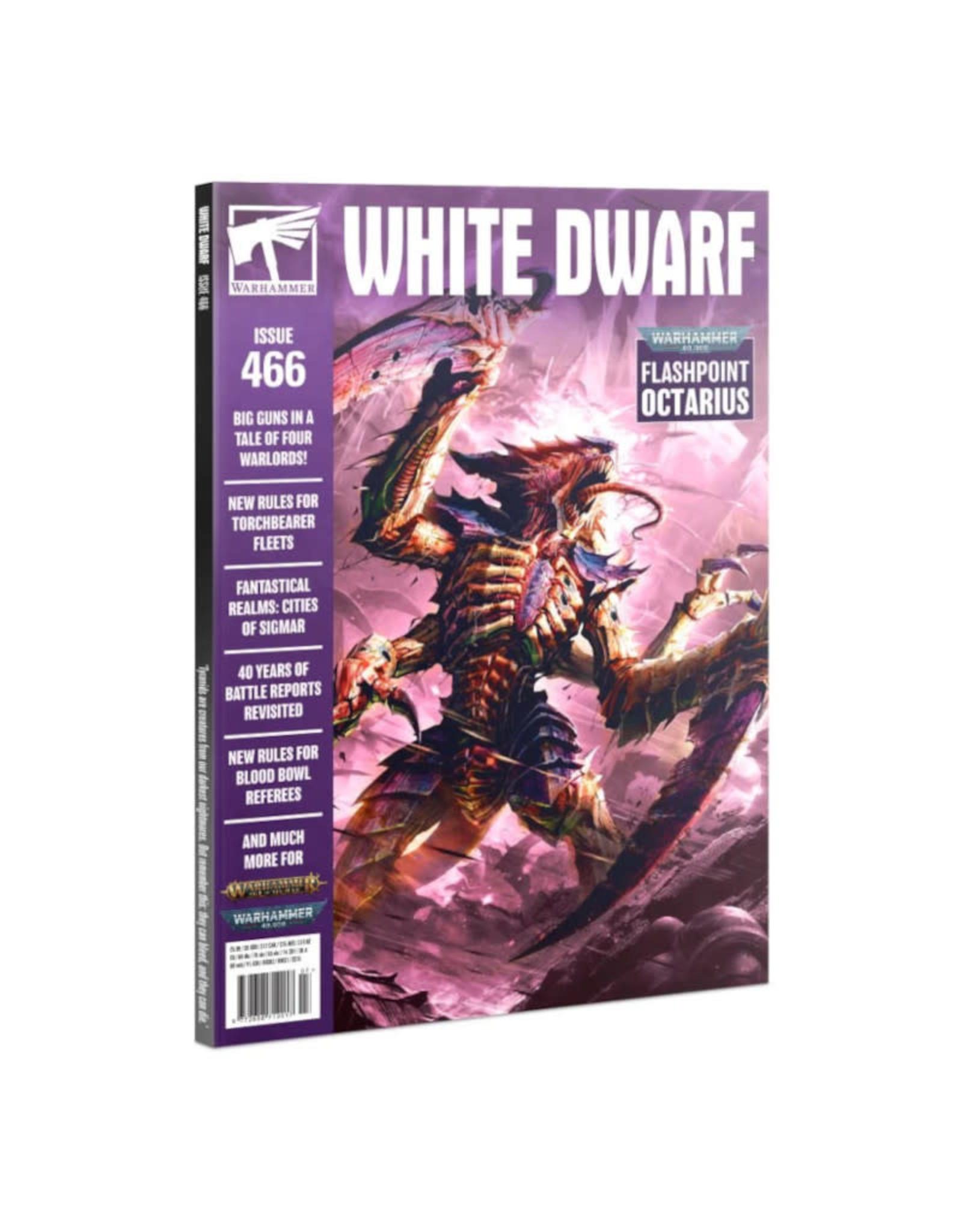 Games Workshop White Dwarf Monthly Issue 466 2021-07