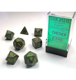 Chessex Polyhedral Dice Set: Speckled Earth (7)