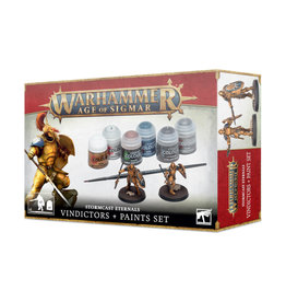 Games Workshop Warhammer Age of Sigmar Paint Set: Stormcast Eternals