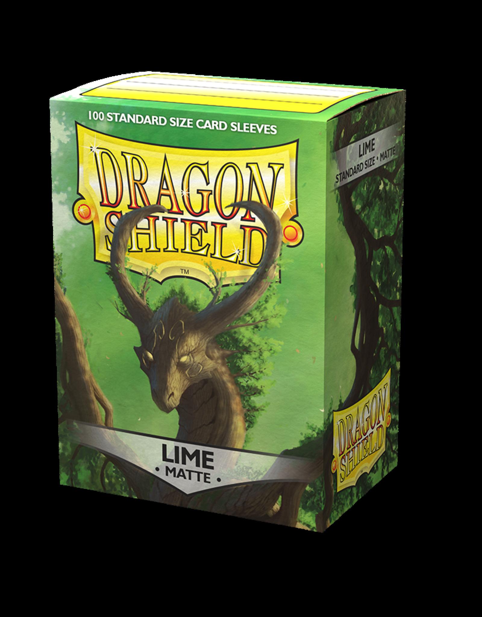 Arcane Tinmen Sleeves: Dragon Shield Matte (100) Lime