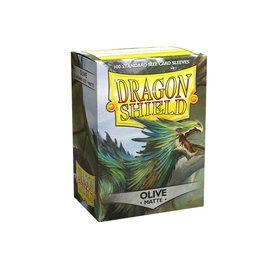 Arcane Tinmen Sleeves: Dragon Shield Matte (100) Olive