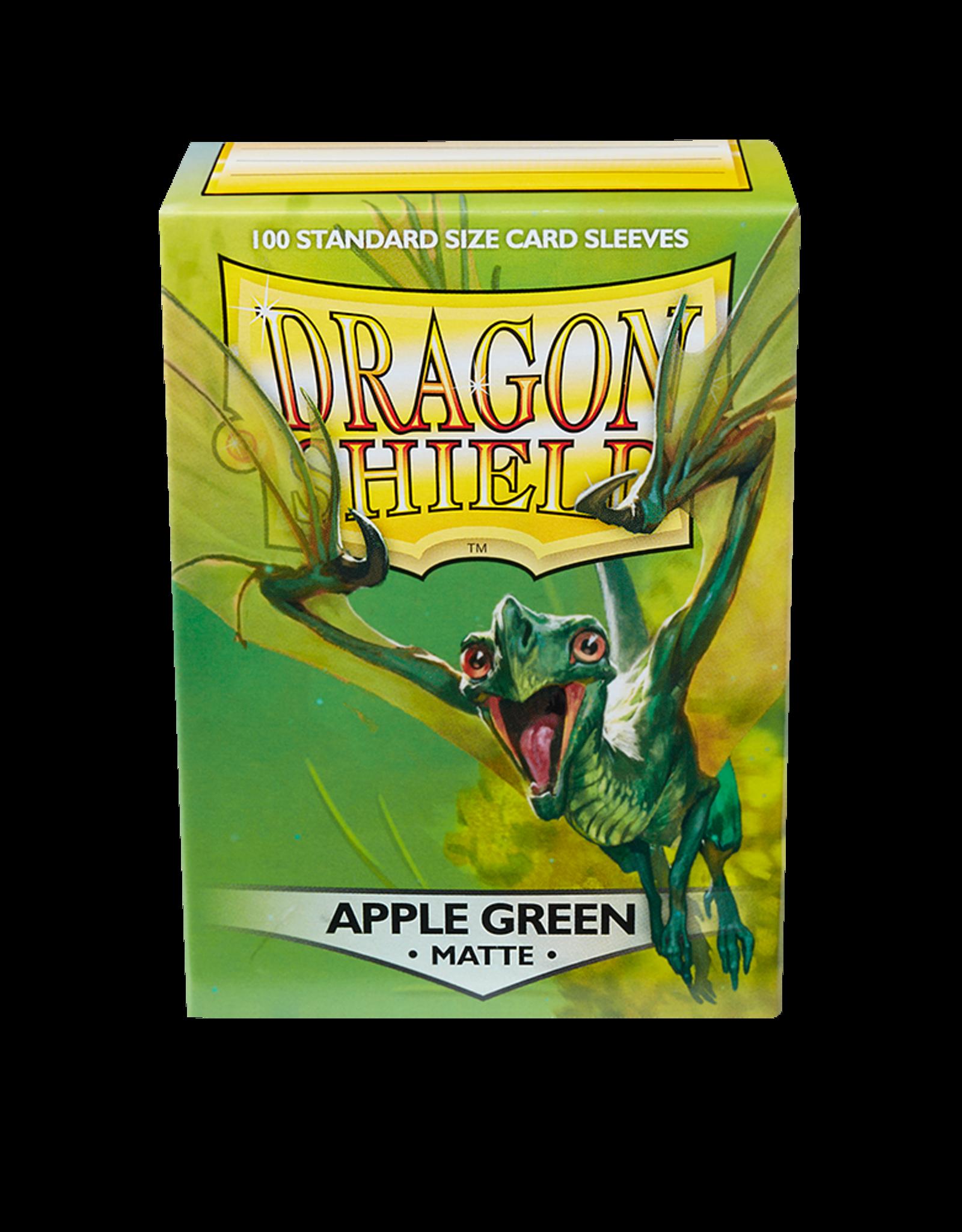 Arcane Tinmen Sleeves: Dragon Shield Matte (100) Apple Green