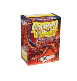 Arcane Tinmen Sleeves: Dragon Shield Matte (100) Red