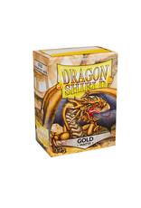 Arcane Tinmen Sleeves: Dragon Shield Matte (100) Gold