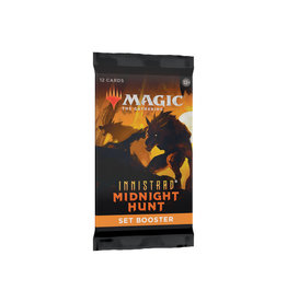 Wizards of the Coast MTG Set Booster Pack: Innistrad Midnight Hunt