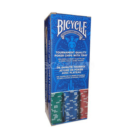 United States Playing Card Co Poker Chips:  Bicycle 8 Gram Clay-Filled