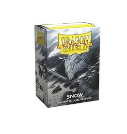 Arcane Tinmen Dragon Shields: (100) Matte Dual  Snow