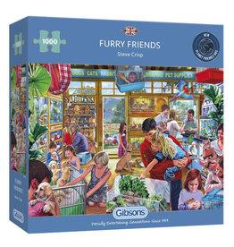 Gibsons Furry Friends 1000 PCS