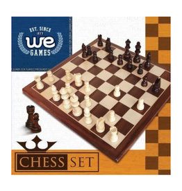 Chess Set: 12 Inch Walnut Board