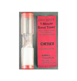 Chessex Sand Timer: One Minute
