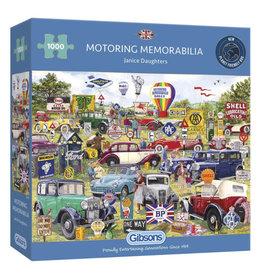 Gibsons Motoring Memorabilia Puzzle 1000 PCS