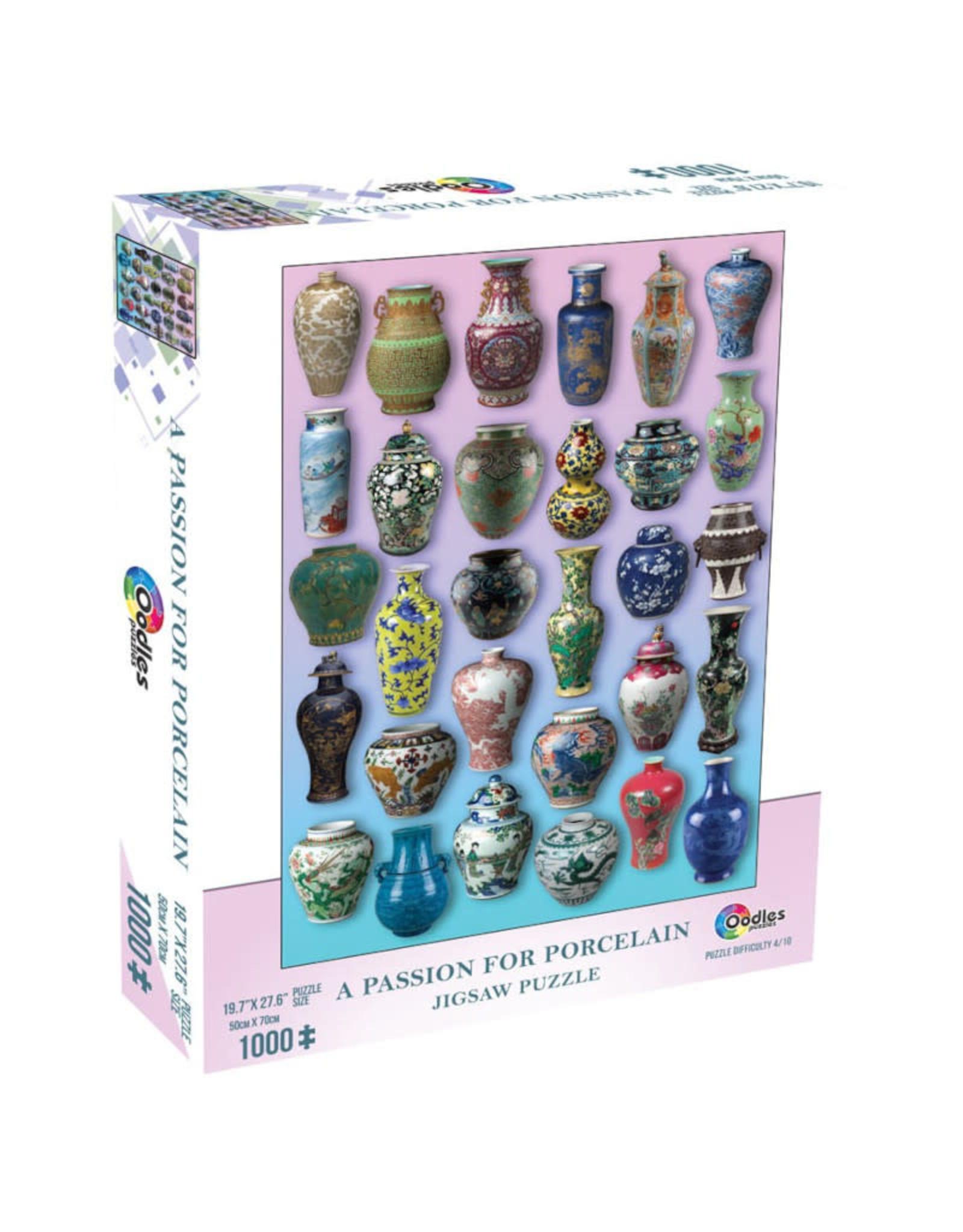 Mchezo Passion for Porcelain Puzzle 1000 PCS