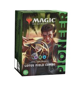 Wizards of the Coast (October-15 2021) MTG 2021 Pioneer Challenger Deck: Lotus Field Combo