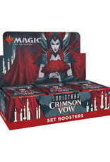 Wizards of the Coast MTG Innistrad Crimson Vow Set Booster (30) Display (Pre-Order)