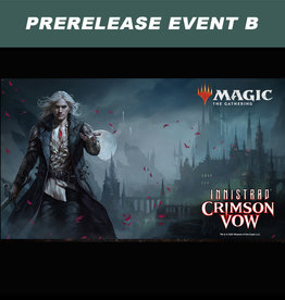 Wizards of the Coast MTG Innistrad Crimson Vow Prerelease Sealed Event B  (Saturday, Nov. 13 at 11 am)