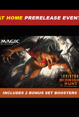 Wizards of the Coast MTG Innistrad Midnight Hunt AT HOME Prerelease Kit (includes 2 Set Boosters)
