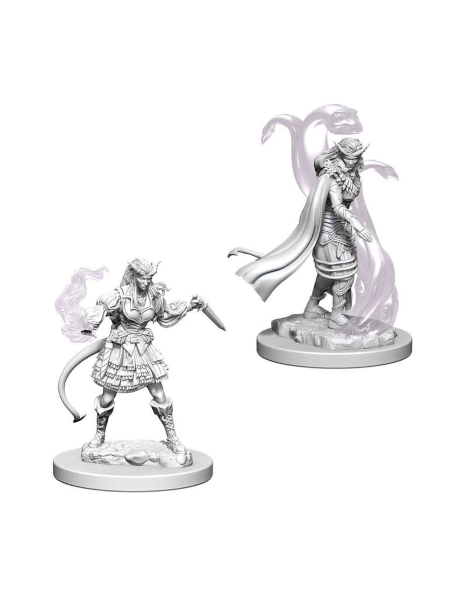 Wizkids D&D Unpainted Minis: Tiefling Sorcerer Female