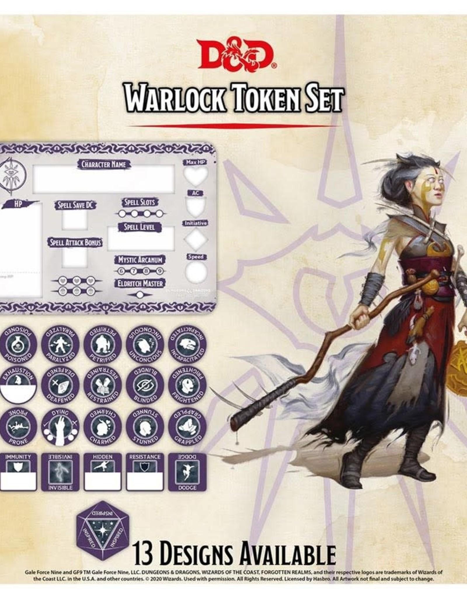 Gale Force 9 D&D RPG Token Set Warlock