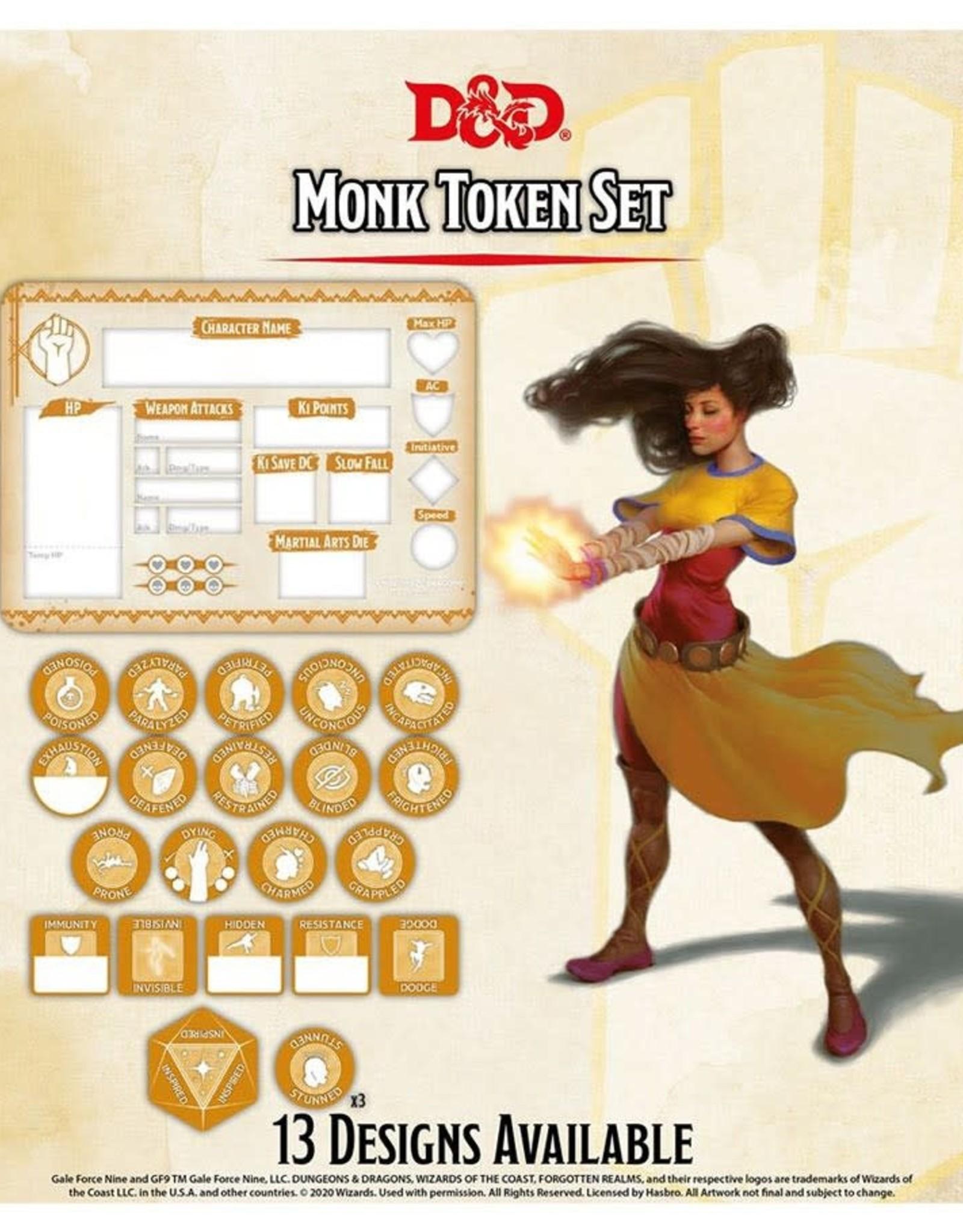 Gale Force 9 D&D RPG Token Set Monk