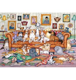Gibsons The Barker-Scratchits Puzzle 500 PCS