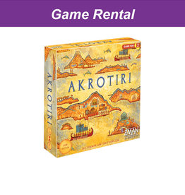 Zman Games (RENT) Akrotiri for a Day. Love it! Buy it!