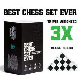 Best Chess Set Ever Chess: Best Chess Set Ever (Black Board)