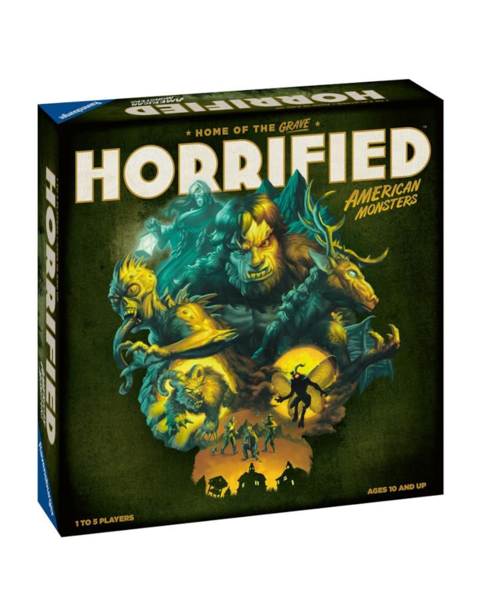Ravensburger (November 2021 - January 2022) Horrified: American Monsters