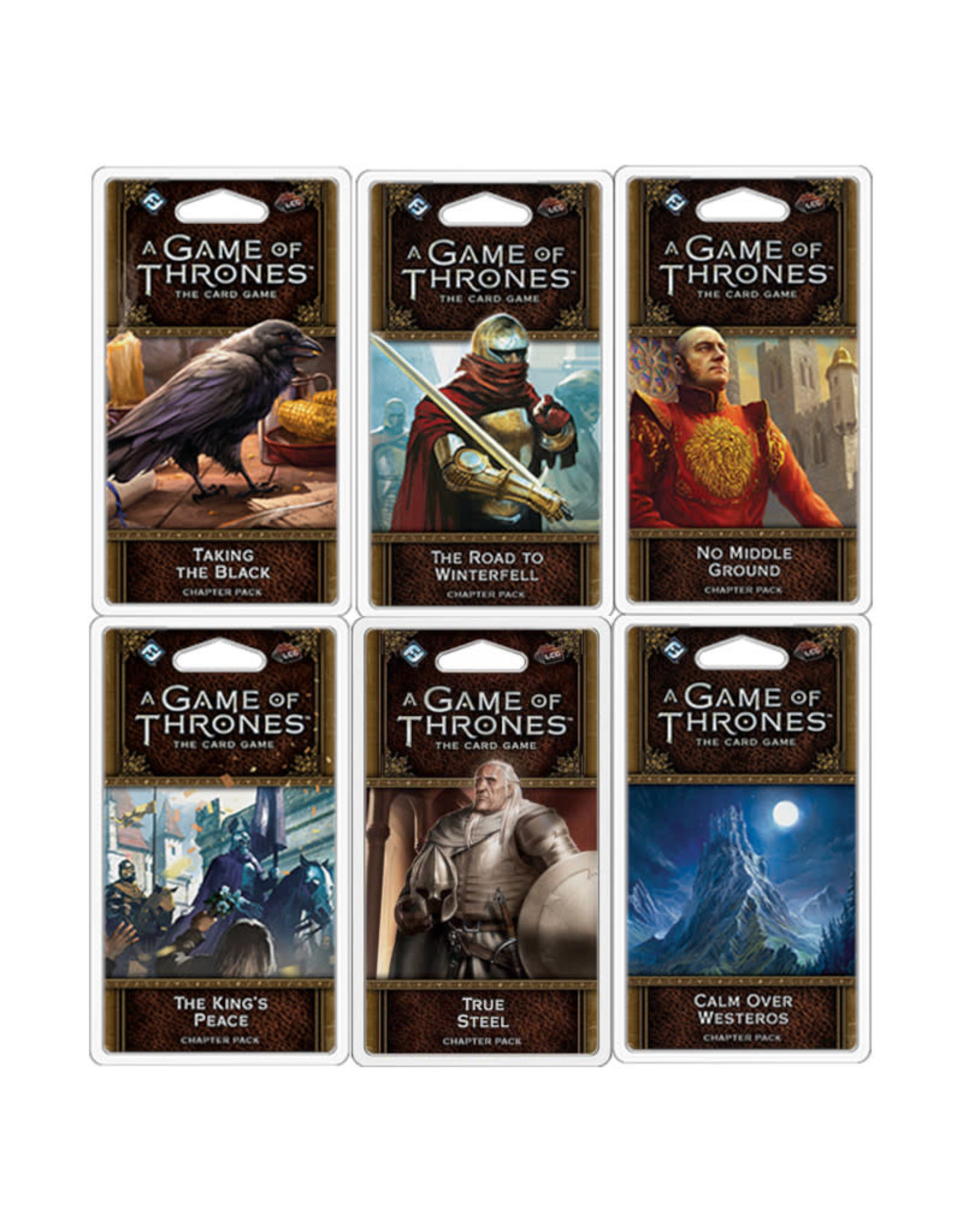 Fantasy Flight Games Game of Thrones LCG 6-Pack Chapter Bundle