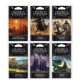 Fantasy Flight Games Game of Thrones LCG 6-Pack Chapter Bundle 2
