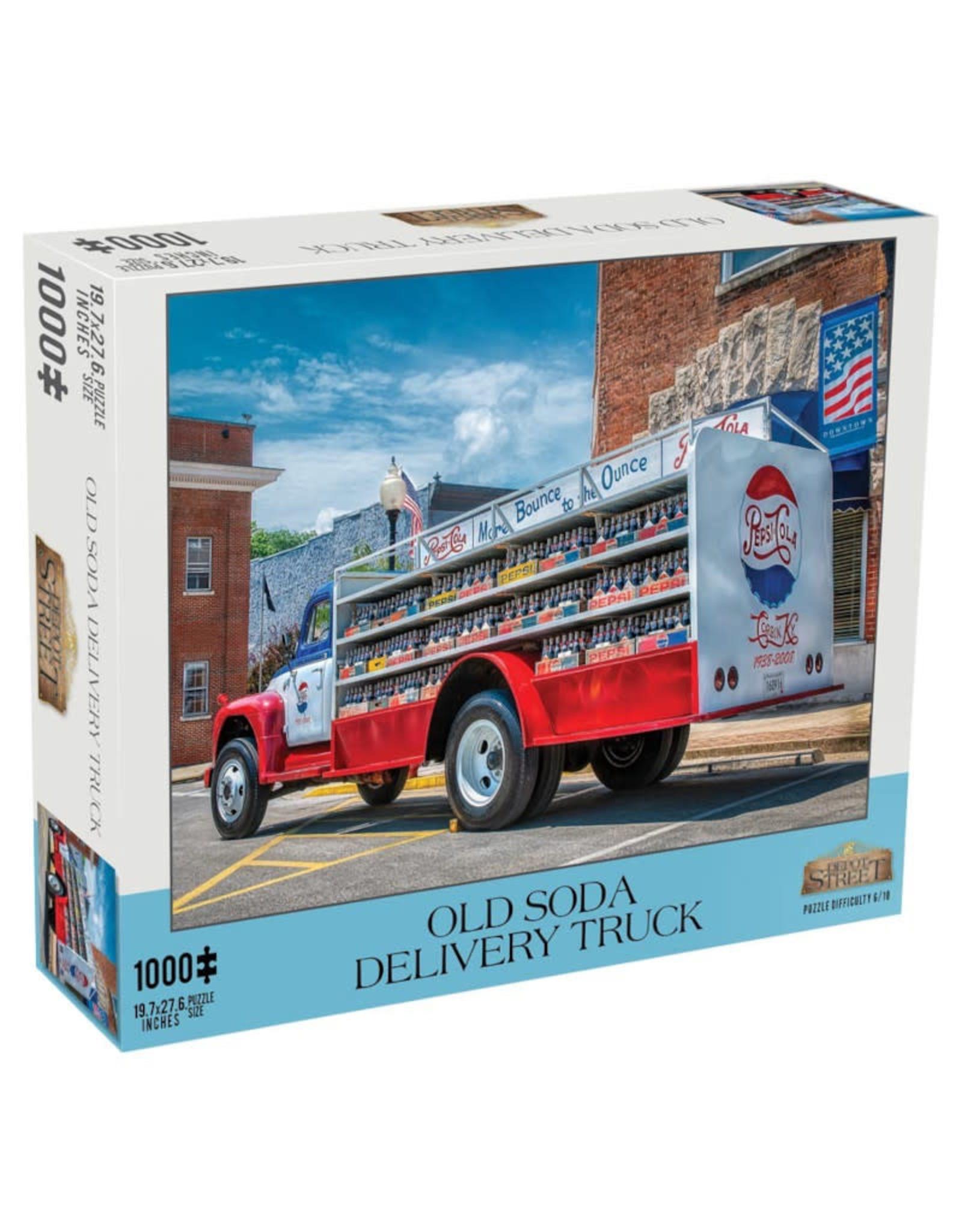 Mchezo Old Soda Delivery Truck Puzzle 1000 PCS
