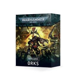 Games Workshop Warhammer 40K Datacards Orks