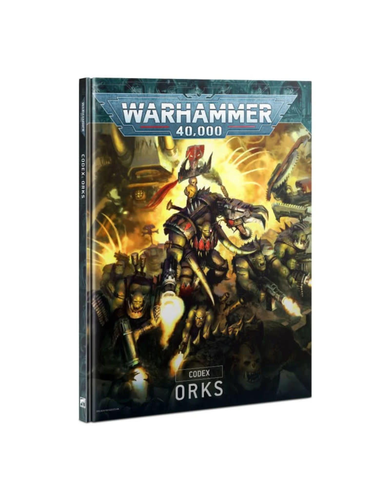 Games Workshop Warhammer 40K Codex Orks