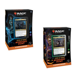 Wizards of the Coast MTG Innistrad Midnight Hunt Commander - Set of 2